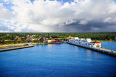 Port at Cozumel, Mexico — Stockfoto