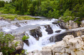 Cascading Water on Swiftcurrent Creek — Stock Photo