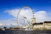 伦敦眼 — 图库照片