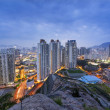 Hongkong city sunset — Stock Photo