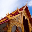 Thai northern style church of Wat chadi liam in Chiang Mai Thail — Stock Photo