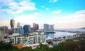 Ville du centre de Macau — Photo