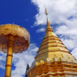 Wat Phra That Doi Suthep is a major tourist destination of Chian — Foto Stock