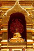 Wat Phra That Doi Suthep is a major tourist destination of Chian — Stock Photo