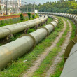 Oil and Gas Industry at outdoor at day — Stock Photo