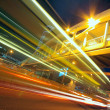 Traffic city night — Stock Photo