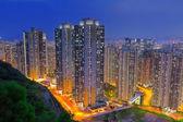 香港市夕日 — ストック写真