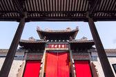Stary chiński drzwi — Zdjęcie stockowe