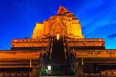Chedi luang temple in chiang mai,thailand — Stock Photo