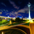 Traffic highway under macau tower — Stock Photo #33581955