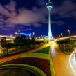 Traffic highway under macau tower — Stock Photo #33581959