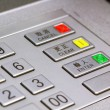 Stock Photo: atm keypad