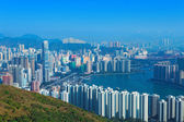 Downtown Kowloon Hongkong — Stock Photo
