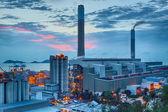 Petrochemical plant — Stockfoto