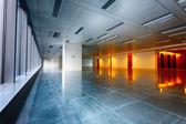 Large modern empty floor — Foto de Stock