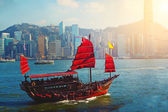 Chinese sailing ship — Stock fotografie