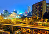 Downtown in Hong Kong — Stock Photo