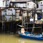 Tai O, A small fishing village in Hong Kong — Stock Photo #3662951