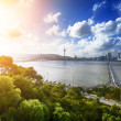 Stock Photo: Macau sunset