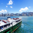 Victoria Harbor of Hong Kong — Stock Photo