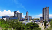 Cement Plant at day — Stock Photo
