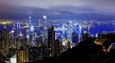 Hongkong night — Stock Photo
