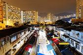 Hongkong tradtional market — Stock Photo