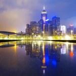 Hong Kong Skylines at sunset — Stock Photo #46133671