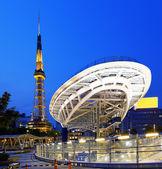 City skyline with Nagoya Tower. — Stock Photo