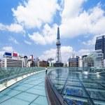 Nagoya downtown daytime, Japan City — Stock Photo #46406159