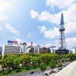 Nagoya downtown daytime, Japan City — Stock Photo #46406171