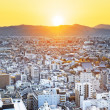 Sunset over Kyoto City in Japan.  — Stock Photo #46706343