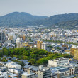 Sunset over Kyoto City in Japan.  — Stock Photo #46706351