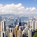 Hong Kong skylines daytime — Stock Photo #46960807