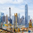 Construction site in Hong Kong — Stock Photo #47743719