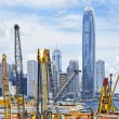 Construction site in Hong Kong — Stock Photo #47743743