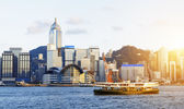 Hong kong sunset  — Stock Photo
