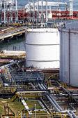 Oil tank station — Stock Photo