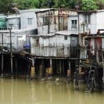 Tai O, A small fishing village in Hong Kong — Stock Photo #4981640
