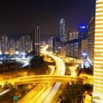 Traffic in Hong Kong city — Stock Photo #50716623