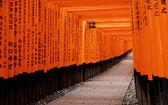 Fushimi Inari Taisha Shrine in Kyoto City, Japan — Stock Photo