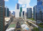 Office buildings at day, hongkong kwun tong  — Stock Photo