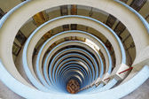 Circular public house building — Stock fotografie