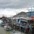 Tai O fishing village with stilt house in Hong Kong — Stock Photo #5499095