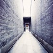 Traditional Chinese architecture, long corridor — Stock Photo #7264401