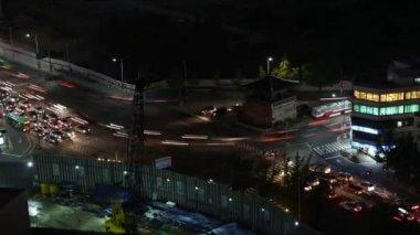 Seoul at night — Stock Video