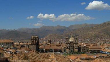 City of Cuzco — Stock Video