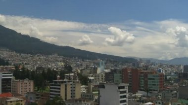 Time Lapse Quito — Stock Video