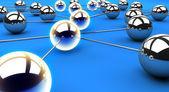 Network Path — Stock Photo