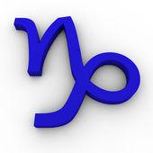Sign of the Zodiac - Capricorn — Stock Photo
